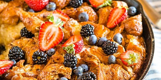Apple-Cinnamon French toast bake Age 6-10 $30