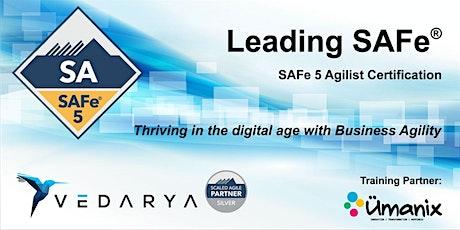 Leading SAFe - Certified SAFe Agilist 5.0 (En Français) CONFIRMÉ billets