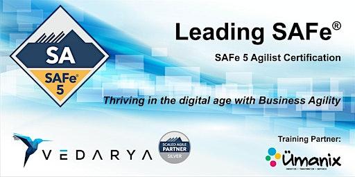 Leading SAFe - Certified SAFe Agilist 5.0 (En Français) CONFIRMÉ