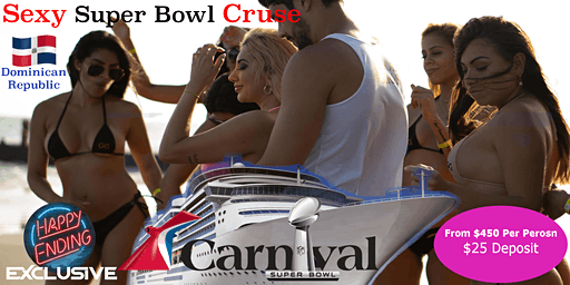 Sexy Super Bowl LV Cruise To The Dominican Republic