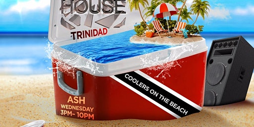 GLASSHOUSE TRINIDAD 2020 | COOLERS ON THE BEACH