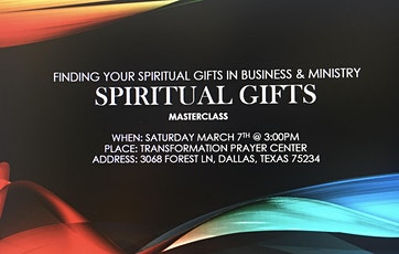 Finding your Spiritual Gifts in Business & Ministry tickets