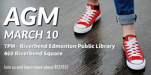 Red Shoe Society Edmonton AGM March 10