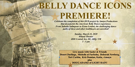 American Belly Dance Icons -film tickets
