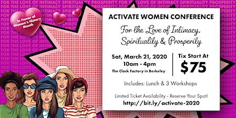 Activate Women Conference 2020 tickets