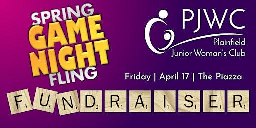 PJWC Spring Fling GAME NIGHT!