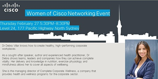 Women of Cisco Networking Event: Resilience in the Workplace