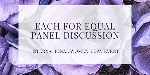 Each for Equal - Speakers Forum