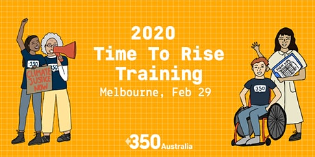 Melbourne - Time To Rise Training tickets