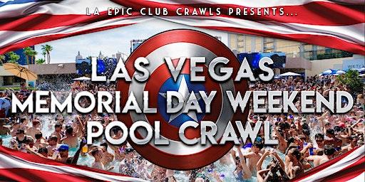 2020 Las Vegas Memorial Day Weekend Pool Crawl