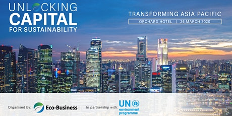 Unlocking capital for sustainability 2020 tickets