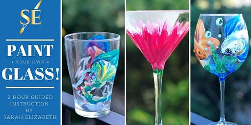 Paint and Sip - Wine Glasses!