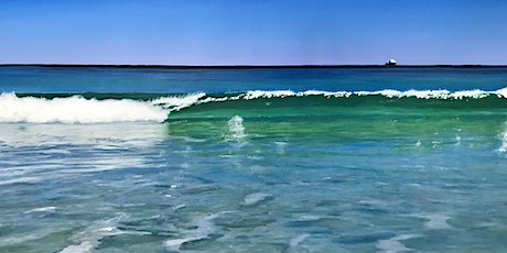 Waves and Whitewash One Day Painting Workshop tickets