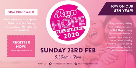 Run for Hope - Melbourne 2020 tickets