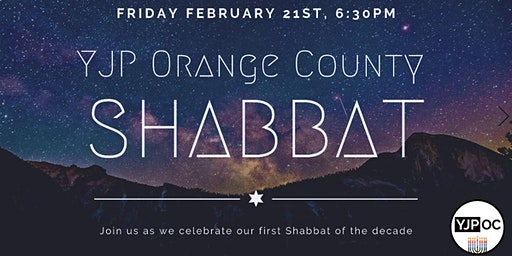 First Shabbat of the Decade with YJP Orange County - Chai Society