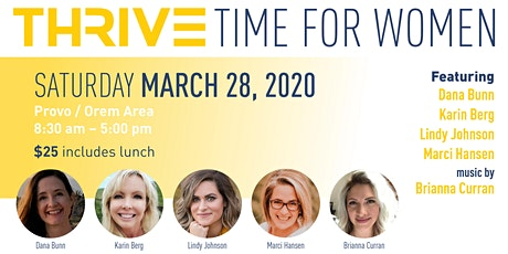 THRIVE Time for Women tickets