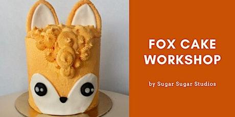 Cake Decorating: Fox Cake Workshop tickets