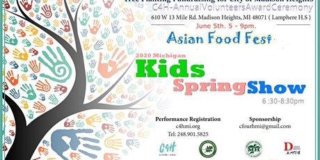 2020 Michigan Kids Spring Show - June. 5th tickets