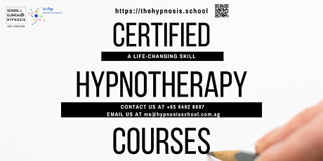Practitioner Certificate In Hypnotherapy (PCHyp) tickets