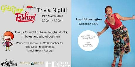 Trivia Night with Amy Hetherington tickets