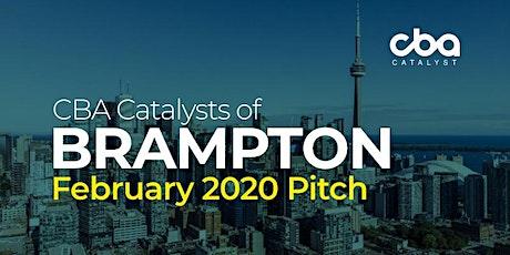 CBA Catalysts of Brampton - February 2020 Pitch Night tickets