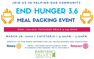 End Hunger 3.6 @ Raritan Valley Community College