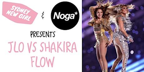 JLo vs Shakira -  Flow Yoga in Bondi by Sydney New Girl & Noga tickets