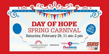 Suns Charities 88 Volunteer Opportunity - Day of Hope Spring Carnival tickets