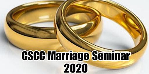 CSCC Marriage Seminar 2020