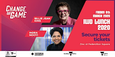 2020 Change Our Game International Women's Day Lunch
