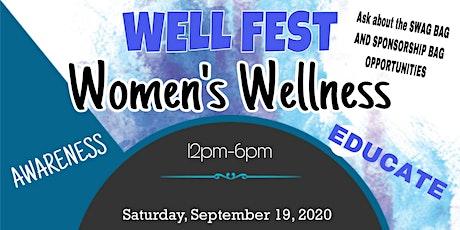 Women's Well Fest W/h Tina J Ramsay of Heal the Honeypot tickets