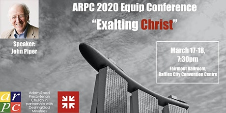 ARPC 2020 Equip Conference - John Piper (Green Zone) tickets