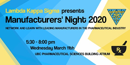 Manufacturers' Night 2020