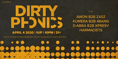 Dirtyphonics at 1Up tickets