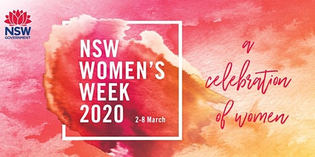 NSW Women's Week , Talking Women Business Leaders Panel with Telstra tickets