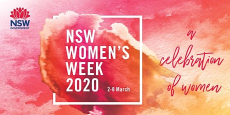 NSW Women's Week 2020.  BIO & Beyond Student Challenge tickets