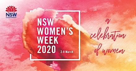 NSW Women's Week 2020.  An upbeat and informative Health Forum for Women tickets