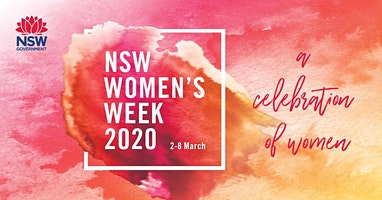 NSW Women's Week 2020.  An upbeat and informative Health Forum for Women