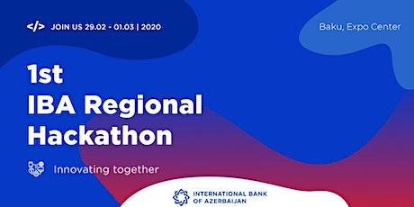 1st IBA Regional Hackaton tickets