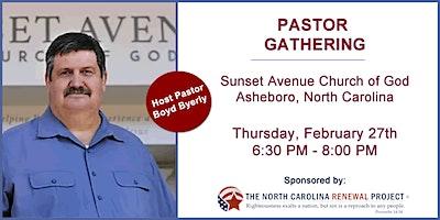 Pastor Gathering-Asheboro, NC