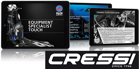 Workshop Equipment PADI/CRESSI tickets