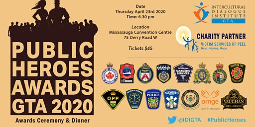 PUBLIC HEROES GTA 2020 AWARDS CEREMONY