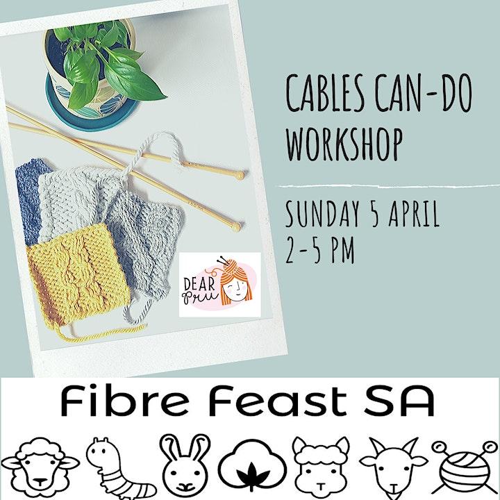 Cables - Can Do Workshop @ FibreFeastSA2020 image