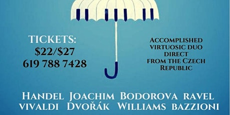 Classical Piano and Violin Duo Direct from the Czech Republic tickets