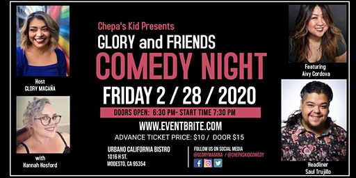 Chepa's Kid presents Glory and Friends Comedy Night