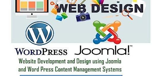 Website Development & Design using Joomla & Word Press Content Mgt. Systems