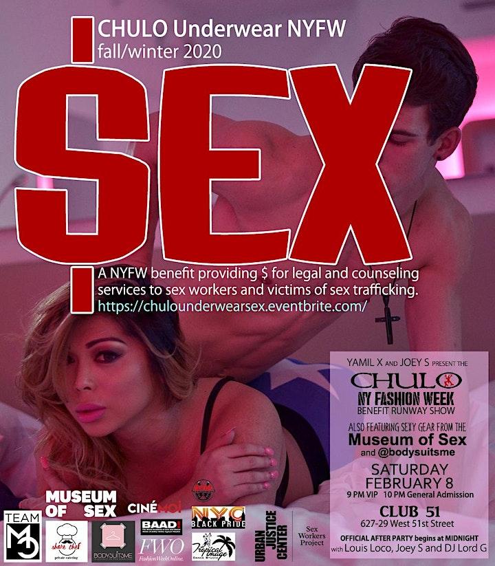 CHULO Underwear presents $EX: A NYFW Benefit Runway Show image