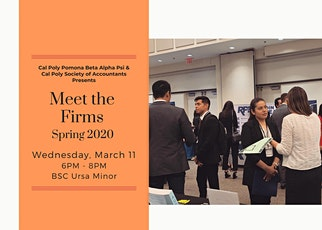 Cal Poly Pomona Spring Meet the Firms 2020 (Professionals)  tickets