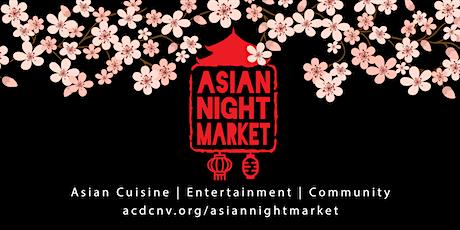 Asian Night Market 2020 tickets