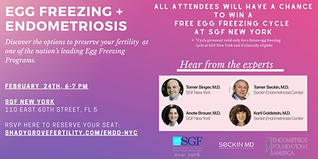 Egg Freezing + Endometriosis: Everything You Need to Know tickets